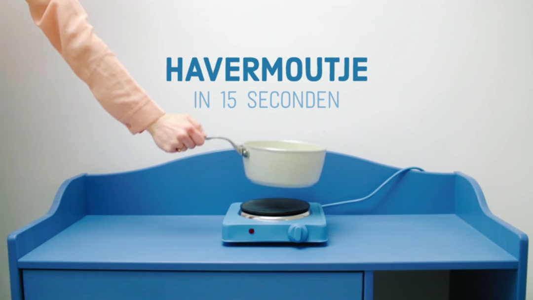 video havermout in 15 seconden